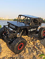 baratos -Carro com CR Alloy Climber 4WD RC Car 4CH 2.4G Off Road Car / Rock Climbing Car 1:18 KM / H