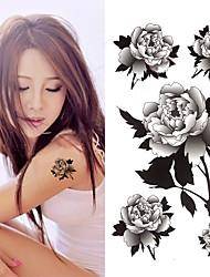 Недорогие -3 pcs Временные тату Временные татуировки Тату с цветами Искусство тела запястье