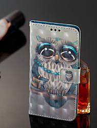 abordables -Funda Para Xiaomi Redmi Note 5 Pro / Xiaomi Mi Mix 2S Cartera / Soporte de Coche / con Soporte Funda de Cuerpo Entero Búho Dura Cuero de PU para Xiaomi Redmi Note 5 Pro / Xiaomi Mi Mix 2S