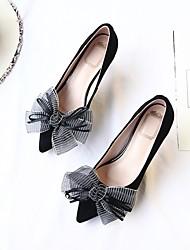 abordables -Mujer Zapatos Piel de Oveja Primavera Confort Tacones Tacón Stiletto Negro / Rosa