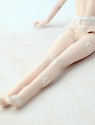 abordables -Medias de Lencería Pantalones, Pantalonetas y Licras por Muñeca Barbie  Crema Tul Medias por Chica de muñeca de juguete