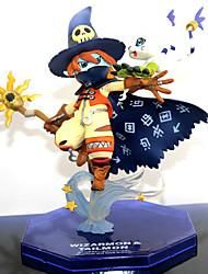 Недорогие -Аниме Фигурки Вдохновлен Digital Monster / Digimons Куки-аниме ПВХ 14 cm См Модель игрушки игрушки куклы