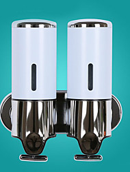 baratos -Dispensador de Sabonete Líquido Novo Design / Criativo Moderna Aço Inoxidável / Ferro / ABS + PC 1pç - Banheiro Montagem de Parede