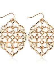 cheap -Women's Long Drop Earrings - Vintage, Fashion Gold / Black / Silver For Daily / School