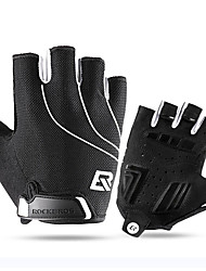 cheap -ROCKBROS Half-finger Unisex Motorcycle Gloves Leather Lightweight / Quick Dry / Breathable