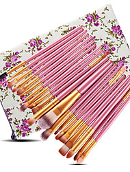 cheap -20-Pack Makeup Brushes Professional Blush Brush / Eyeshadow Brush / Lip Brush Nylon fiber Professional / Full Coverage Plastic