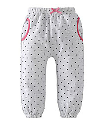 cheap -baby girls' basic polka dot leggings