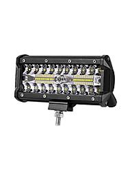 Недорогие -все-в-одном установка 6.48 дюймов 200w 20000lm ip68 водонепроницаемый emc dc9-80v led work light bar