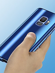 Недорогие -Кейс для Назначение SSamsung Galaxy S9 / S9 Plus / S8 Plus Покрытие / Зеркальная поверхность Чехол Однотонный Твердый ПК