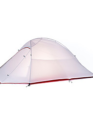 cheap -Naturehike 2 person Backpacking Tent Double Layered Poled Dome Camping Tent Outdoor Rain-Proof, Quick Dry, Windproof for Camping / Hiking 2000-3000 mm Oxford cloth, Nylon 210*125*100 cm