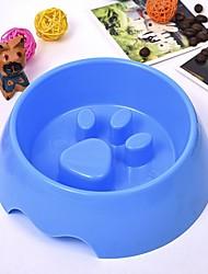 abordables -6 L L Perros / Conejos / Gatos Cuencos y Botellas de Agua / Alimentadores Mascotas Cuencos y Alimentación Portátil / Mini / Entrenador Verde / Azul / Rosa