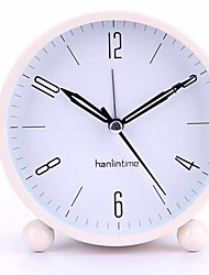 abordables -Reloj despertador Analógico Plásticos Cuarzo 1 pcs