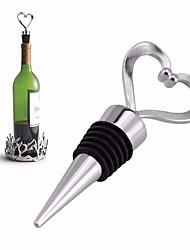 Недорогие -сердце формы красное вино из нержавеющей стали пробки для вина