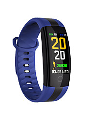cheap -Smartwatch QS01 for Android iOS Bluetooth Blood Pressure Measurement Touch Screen Long Standby Hands-Free Calls Distance Tracking Timer Stopwatch Activity Tracker Sedentary Reminder / Find My Device