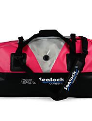 Недорогие -Sealock 65 L Сумка для спорта и отдыха / Заплечный рюкзак Легкость, Дожденепроницаемый, Водонепроницаемая молния для Пешеходный туризм / На открытом воздухе / Пляж