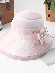 Недорогие -Жен. Классический / Праздник Шляпа от солнца Контрастных цветов