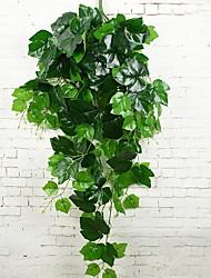 Недорогие -Искусственные Цветы 1 Филиал Односпальный комплект (Ш 150 x Д 200 см) Деревня Pастений Цветы на стену