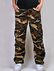 cheap -Men's Active / Military Chinos Pants - Camouflage
