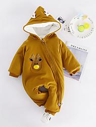 cheap -Baby Boys' Print Long Sleeve Romper