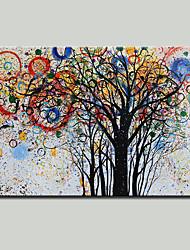 Недорогие -mintura® ручная роспись абстрактного дерева пейзаж живопись маслом на холсте современная картина настенного искусства для домашнего декора, готовая повесить
