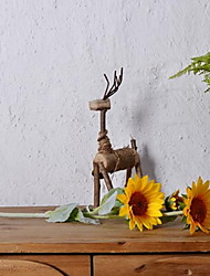 abordables -Fleurs artificielles 1 Une succursale Classique Rustique Tournesols Arbre de Noël