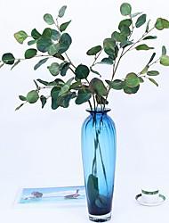 Недорогие -Искусственные Цветы 3 Филиал Классический / Односпальный комплект (Ш 150 x Д 200 см) Деревня / Модерн Pастений / Вечные цветы Цветы на стену