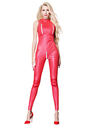 cheap -Cosplay Costume Zentai Cosplay Costumes Red Solid Color Dress / Zentai / Catsuit Spandex / Lycra Spandex All Christmas / Halloween / Carnival
