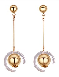 cheap -Women's Drop Earrings - Stylish Gold For Daily / Going out
