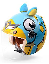 cheap -YEMA animal world Half Helmet Kids Unisex Motorcycle Helmet  Shockproof / Anti-UV / Windproof
