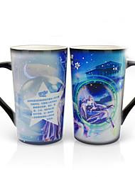 Недорогие -Drinkware Фарфор Кружка Теплоизолированные / Термочувствительных изменения цвета 1 pcs