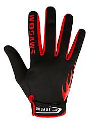 billige -WOSAWE Fuld Finger Unisex Motorcykel handsker Polyester Åndbart / Slidsikkert / Touch Screen