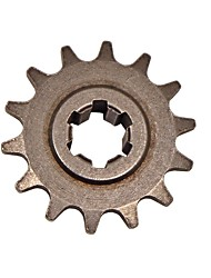 baratos -Cadeias 8mm 14 dente mini motor quad sujeira bolso da bicicleta dianteira do motor da roda dentada t8f-14t