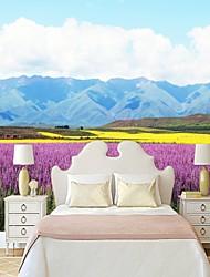 abordables -Mural Toile Revêtement - adhésif requis Fleur / Décoration artistique / 3D
