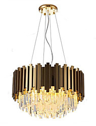 cheap -QIHengZhaoMing 8-Light Crystal Chandelier Ambient Light 110-120V / 220-240V, Warm White, Bulb Included / 10-15㎡
