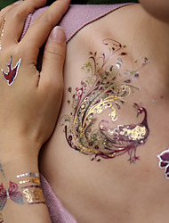 cheap -Sticker / Tattoo Sticker Arm Temporary Tattoos 3 pcs Animal Series / Romantic Series Body Arts