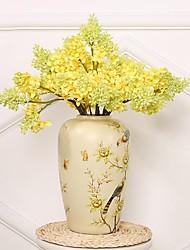 Недорогие -Искусственные Цветы 1 Филиал Классический / Односпальный комплект (Ш 150 x Д 200 см) Свадьба / Modern Орхидеи / Лепестки / Pастений Букеты на стол
