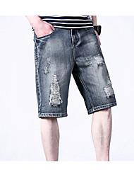 economico -Per uomo Vintage Harém Pantaloni - Tinta unita