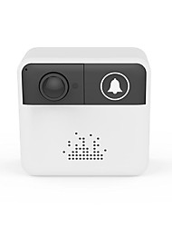 Недорогие -HQCAM 720P Battery Security WiFi Camera Wireless doorbell Rechargeable Battery Powered ip cam Video Surveillance doorbell ring Встроенный из спикера Нет экрана (выход на APP) 720 пиксель