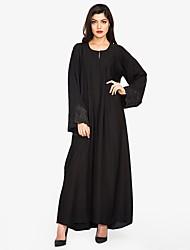 preiswerte -Damen - Solide Street Schick / Anspruchsvoll Abaya Spitze