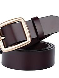 baratos -Mulheres Básico Cinto para a Cintura Sólido