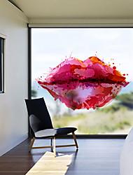 Недорогие -Оконная пленка и наклейки Украшение штейн / Современный 3D-печати ПВХ Стикер на окна / Матовая