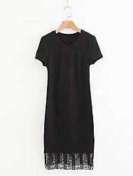 cheap -women's going out little black dress midi