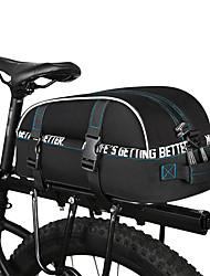 baratos -ROSWHEEL 8 L Malas para Bagageiro de Bicicleta Prova-de-Água, Á Prova-de-Chuva, Multi Camadas Bolsa de Bicicleta 600D de poliéster Bolsa de Bicicleta Bolsa de Ciclismo Ciclismo / Moto
