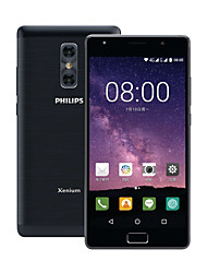 "baratos -PHILIPS X598 5.5 polegada "" Celular 4G (4GB + 64GB 5 mp / 13 mp MediaTek MT6750T 4000 mAh) / 1920*1080"