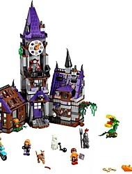 baratos -Blocos de Construir 860 pcs Mansão do Mistério de Scooby Doo Requintado Todos Brinquedos Dom