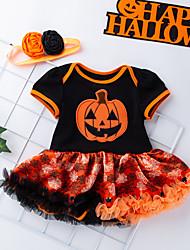 お買い得  -赤ちゃん 女の子 カラーブロック 半袖 ドレス