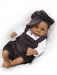 Недорогие -NPKCOLLECTION Куклы реборн Мальчики Девочки 12 дюймовый Полный силикон для тела Силикон - Новорожденный как живой Безопасно для детей Non Toxic Гофрированные и запечатанные ногти Естественный тон кожи