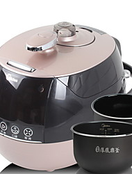 baratos -Panela de pressão Novo Design / Multifunções Aço Inoxidável / ABS + PC Vaporizadores de alimentos 220-240 V 900 W Utensílio de cozinha