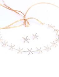 preiswerte -Aleación Stirnbänder mit Seestern und Muschel Ein Paar × 2 Hochzeit / Geburtstag Kopfschmuck