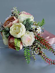 cheap -Artificial Flowers 1 Branch Classic / Single Wedding / Wedding Flowers Calla Lily / Eternal Flower Tabletop Flower